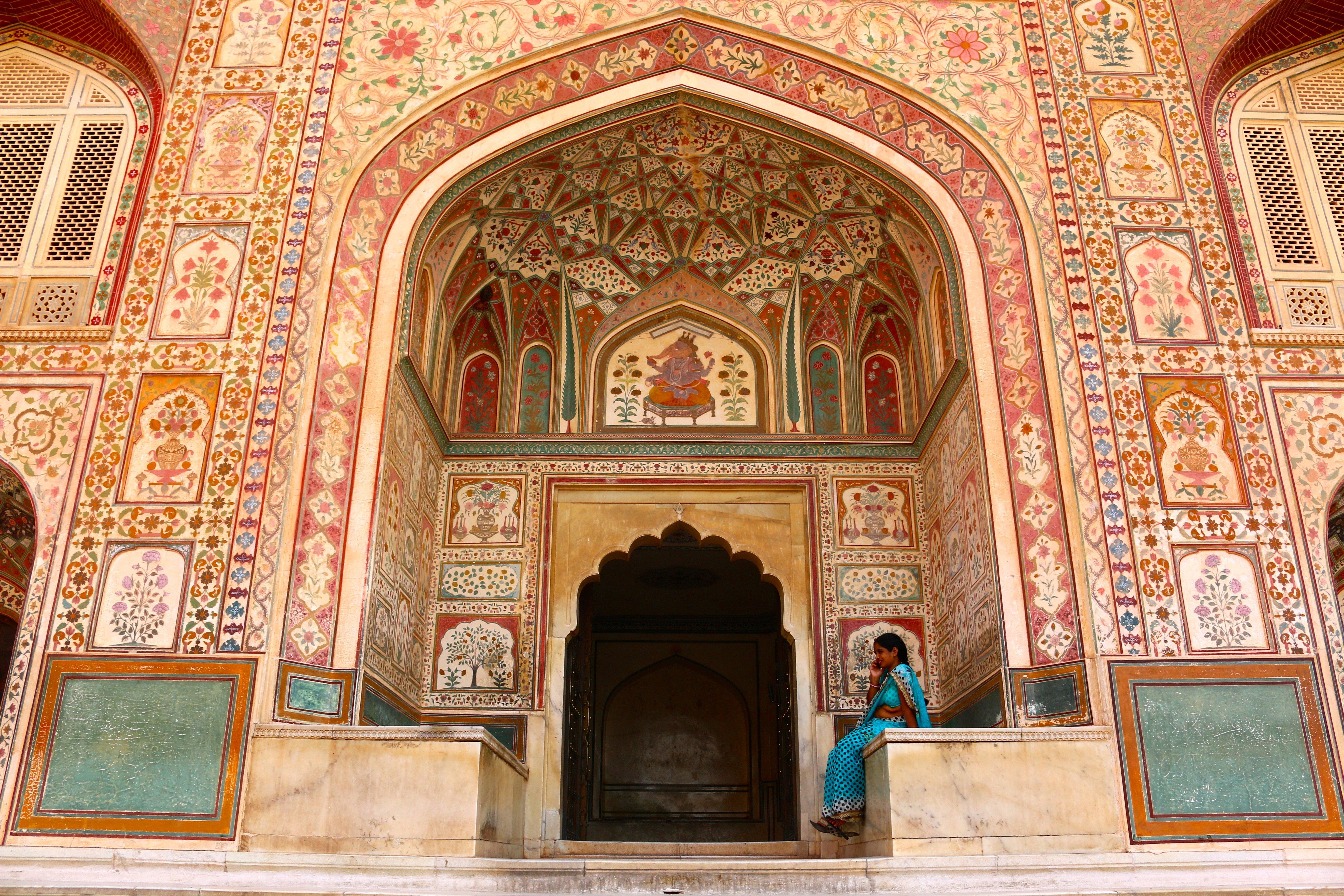 Fuerte de Amber en Jaipur
