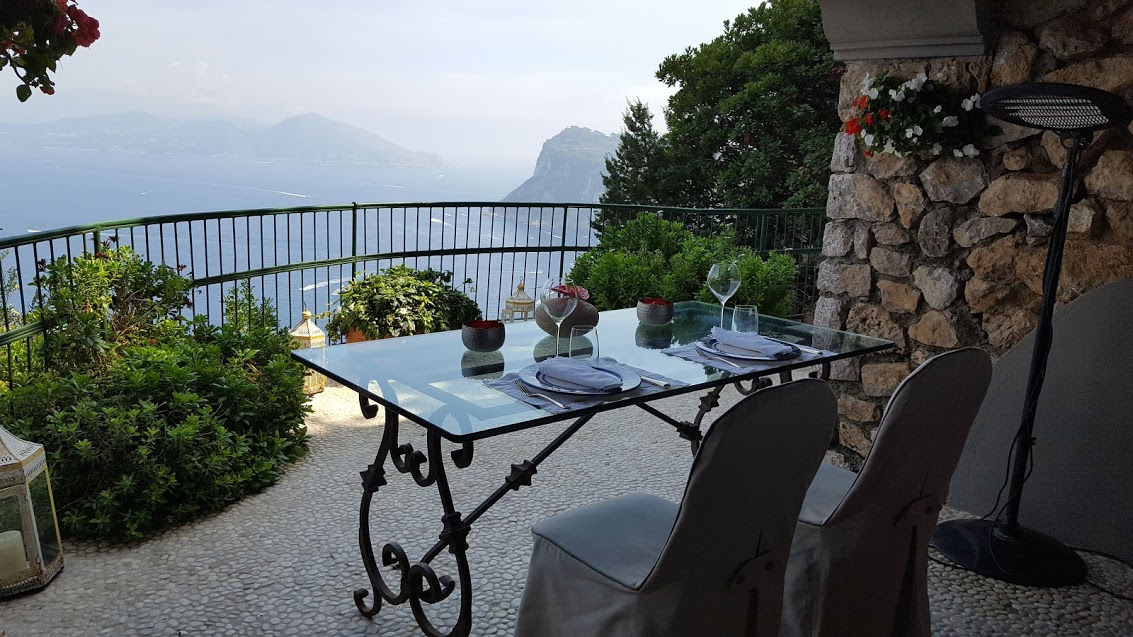 Restaurante en Capri