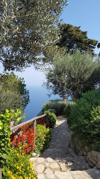 Camino en Capri