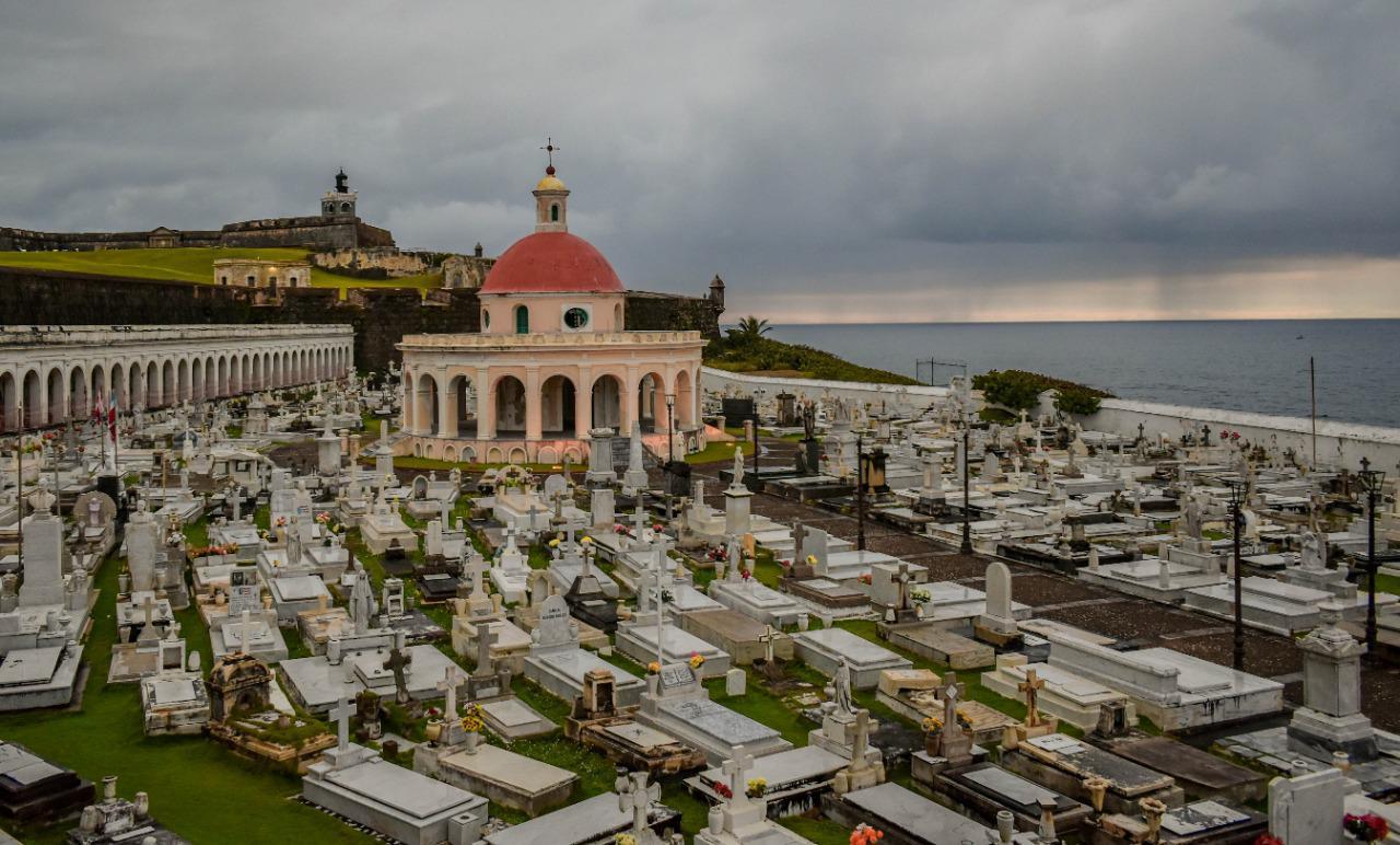 Castillo San Felipe del Morro en San Juan de Puerto Rico