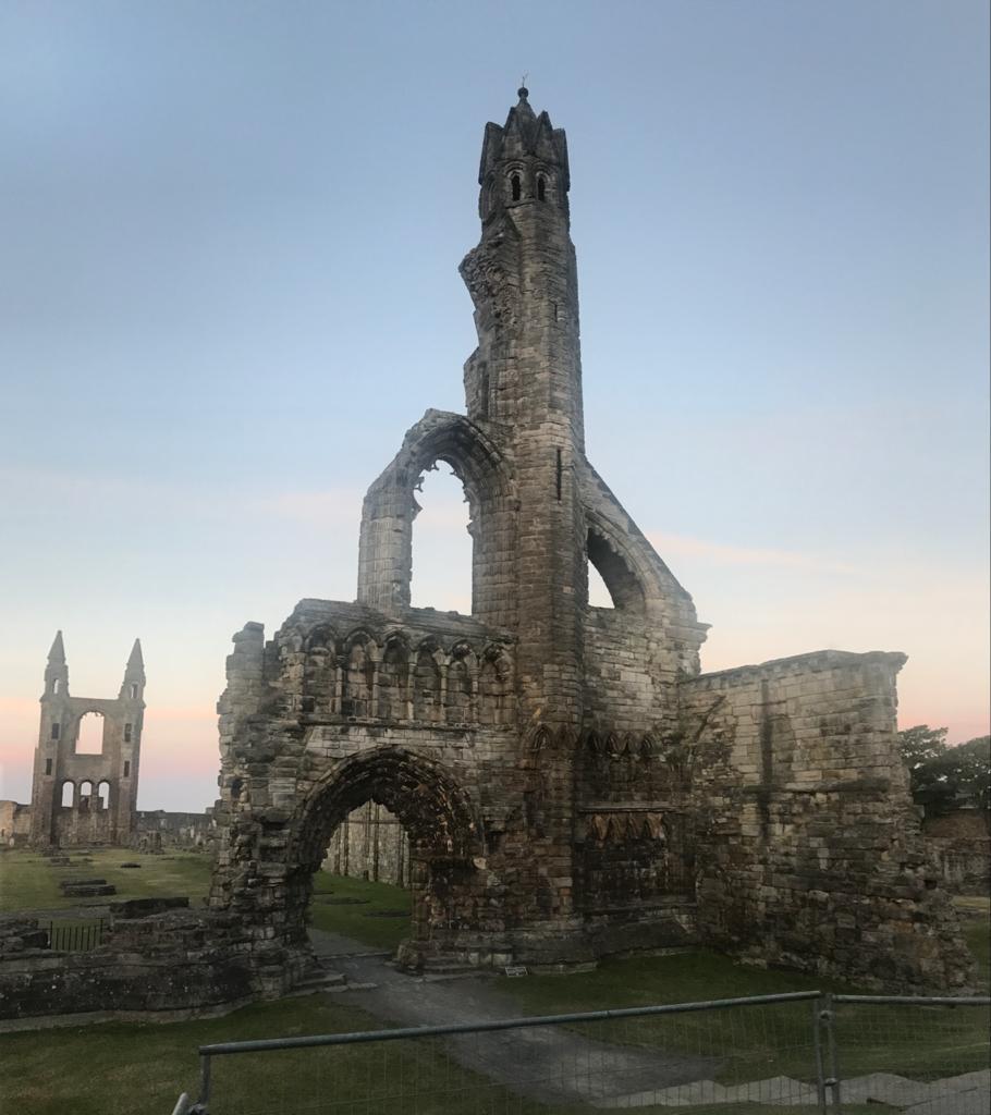 Catedral de St. Andrews en Escocia