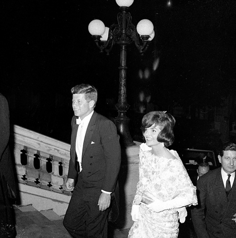 Jackie y John F. Kennedy. Foto: JFK Library