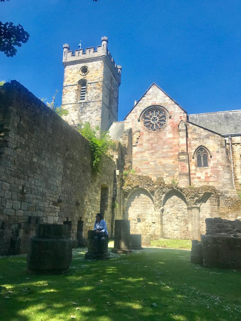 Pueblo de Cullcros en Escocia