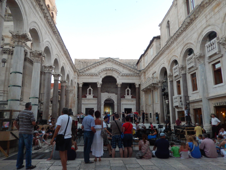 Palacio de Diocleciano en Split, Croacia