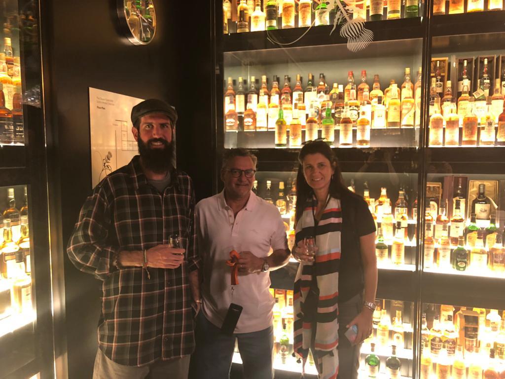Degustación de whisky en Edimburgo, Escocia