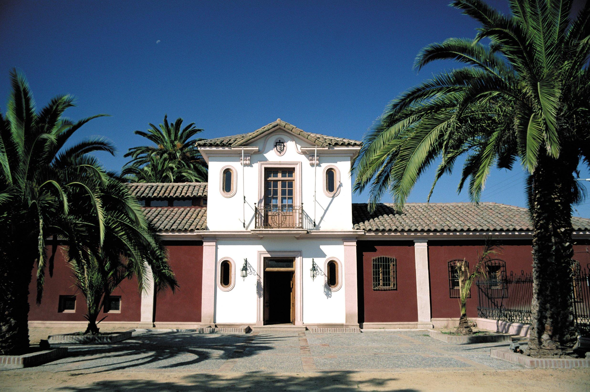 Fachada del Museo de Colchagua