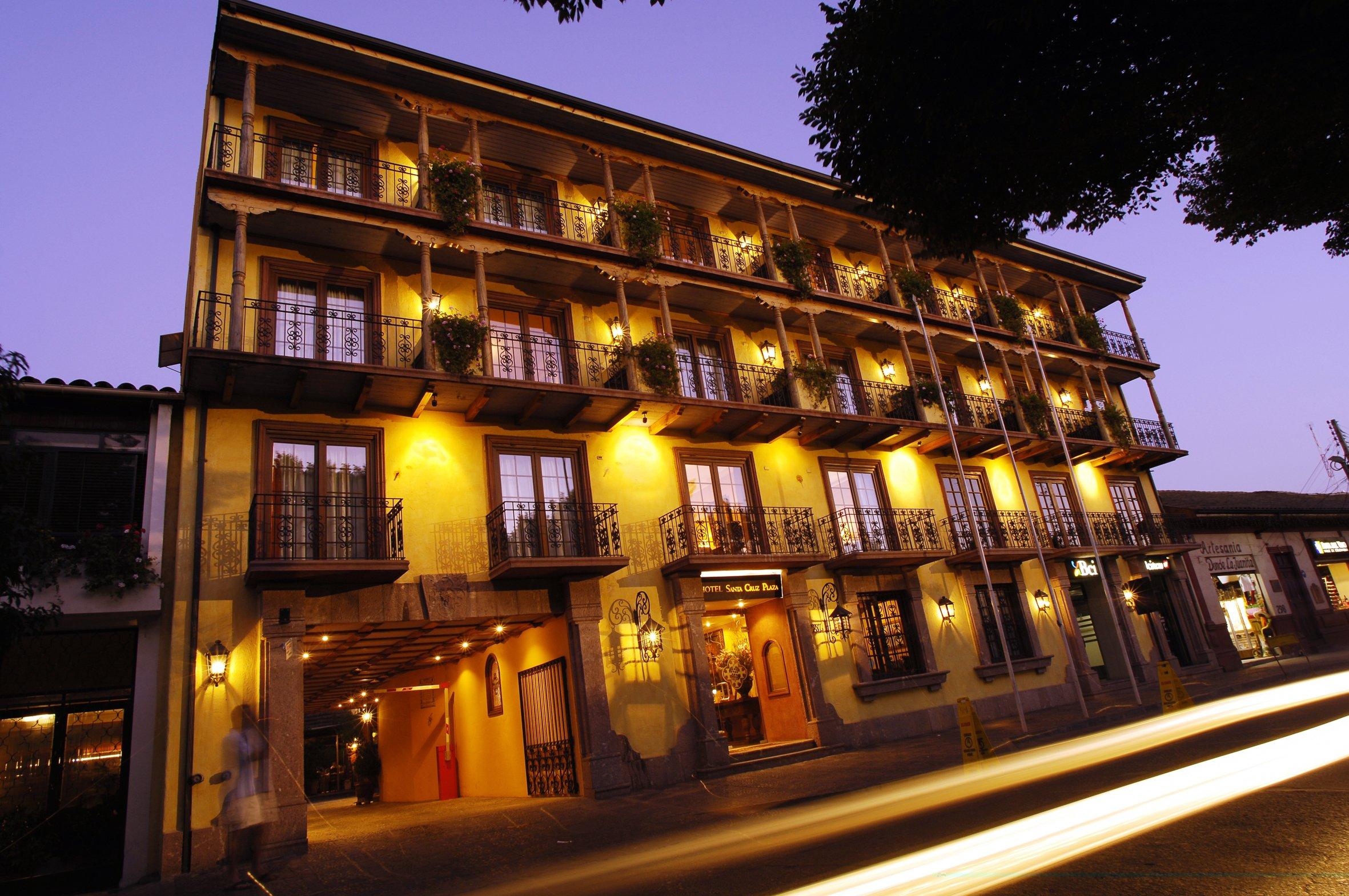 Fachada del Hotel Santa Cruz en Colchagua