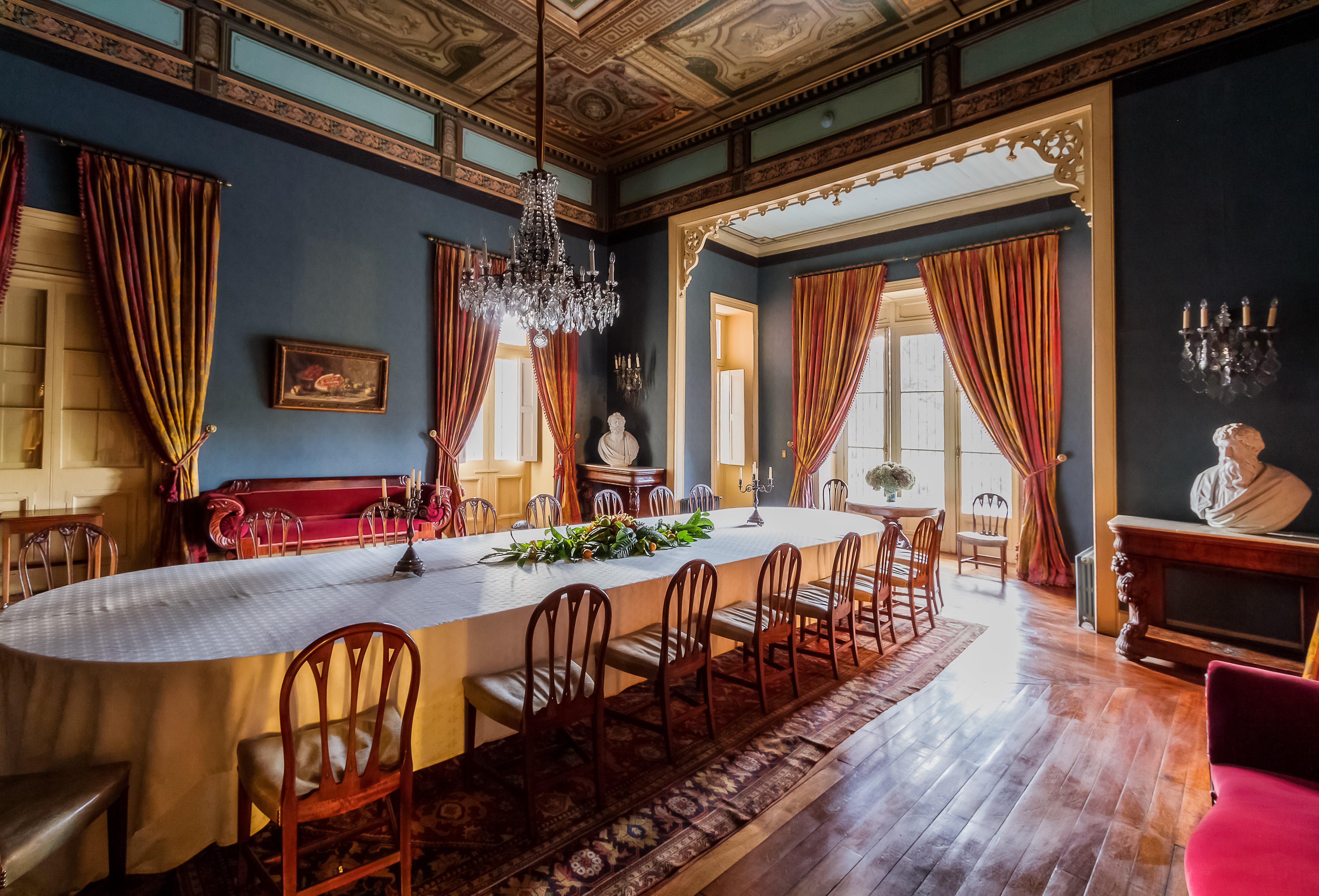 Gran Comedor del Hotel Casa Real en Viña Santa Rita
