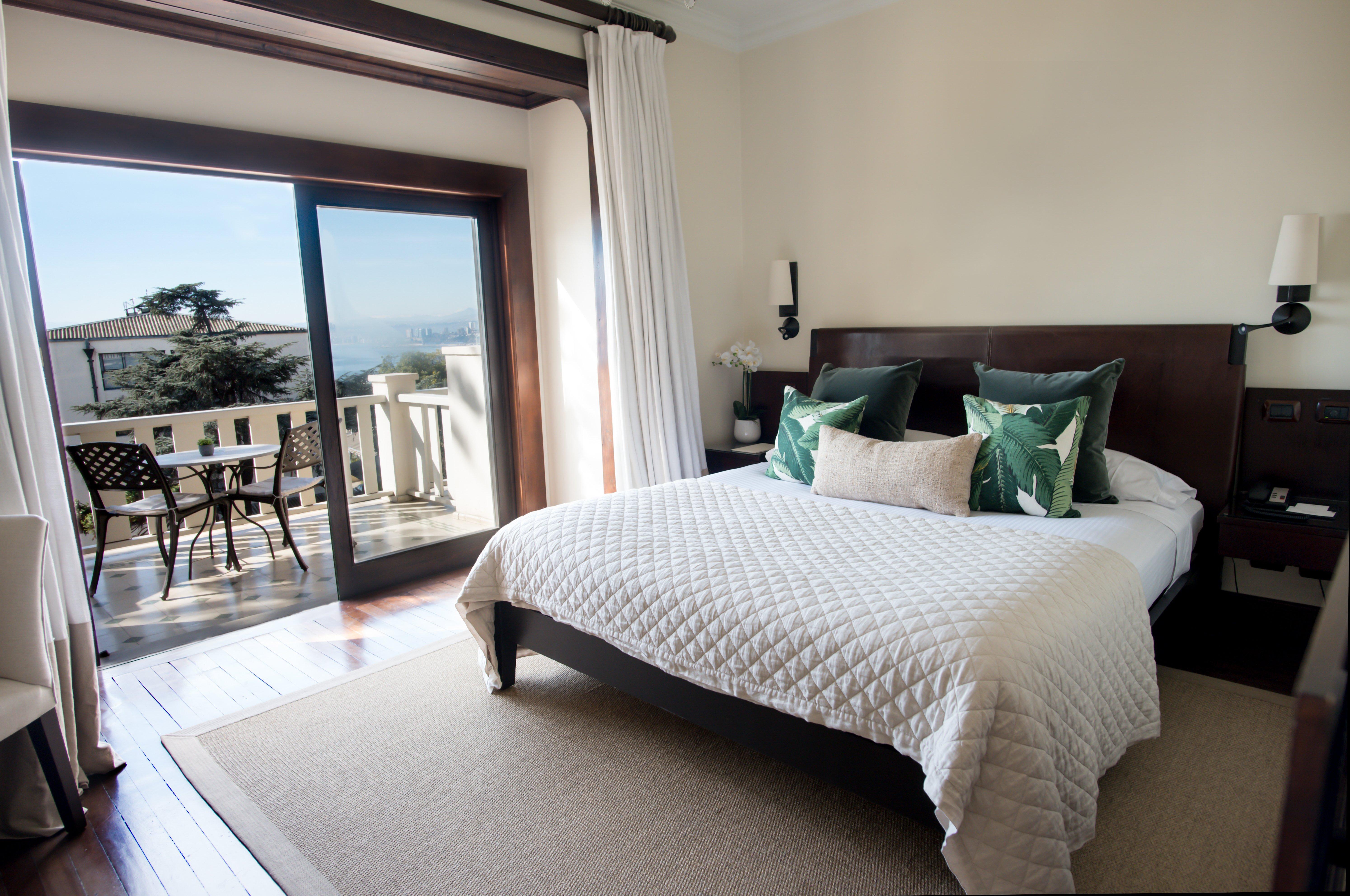 Habitación Premium Superior del Hotel Casa Higueras en Valparaíso