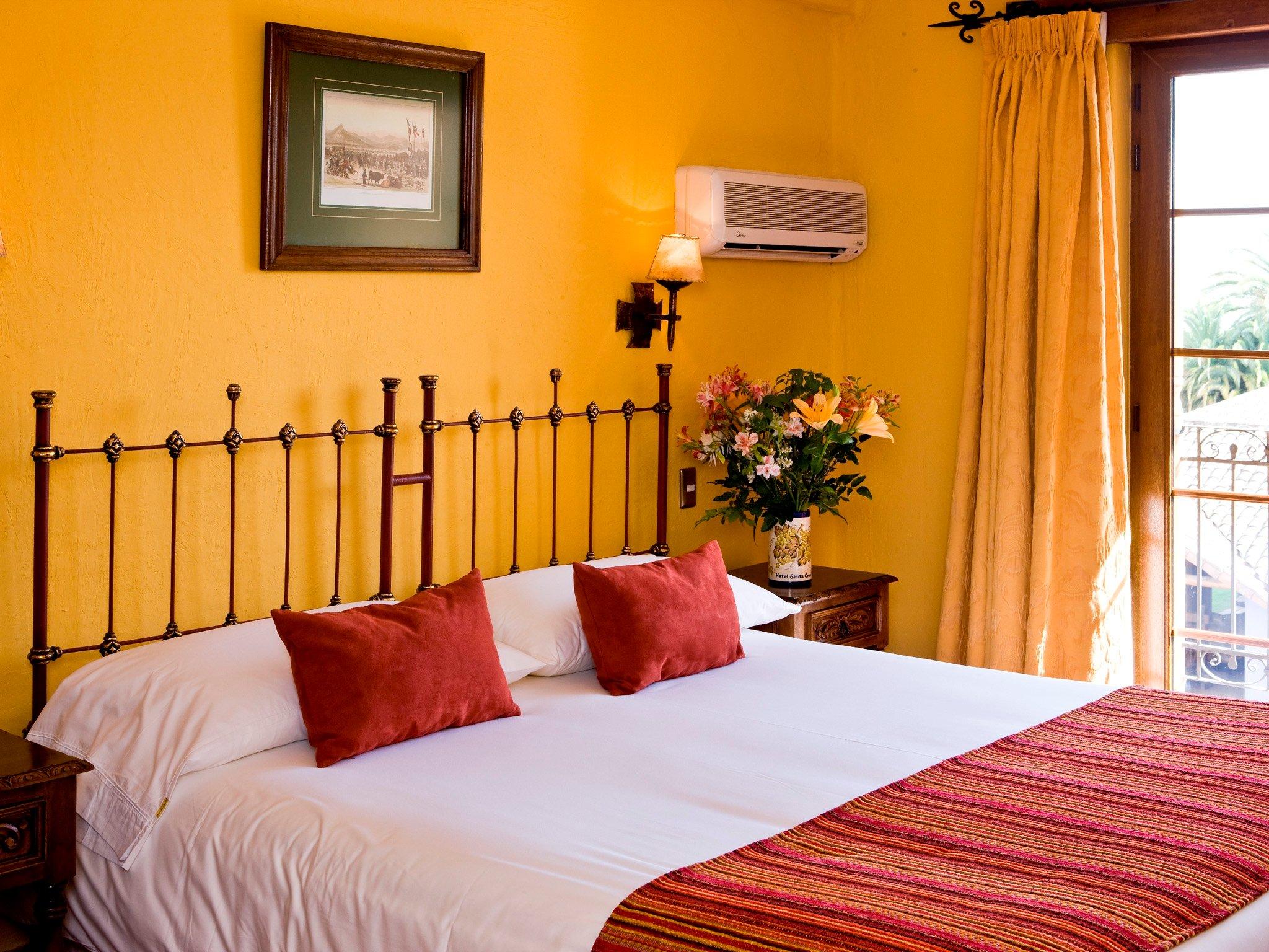 Habitación del Hotel Santa Cruz en Colchagua