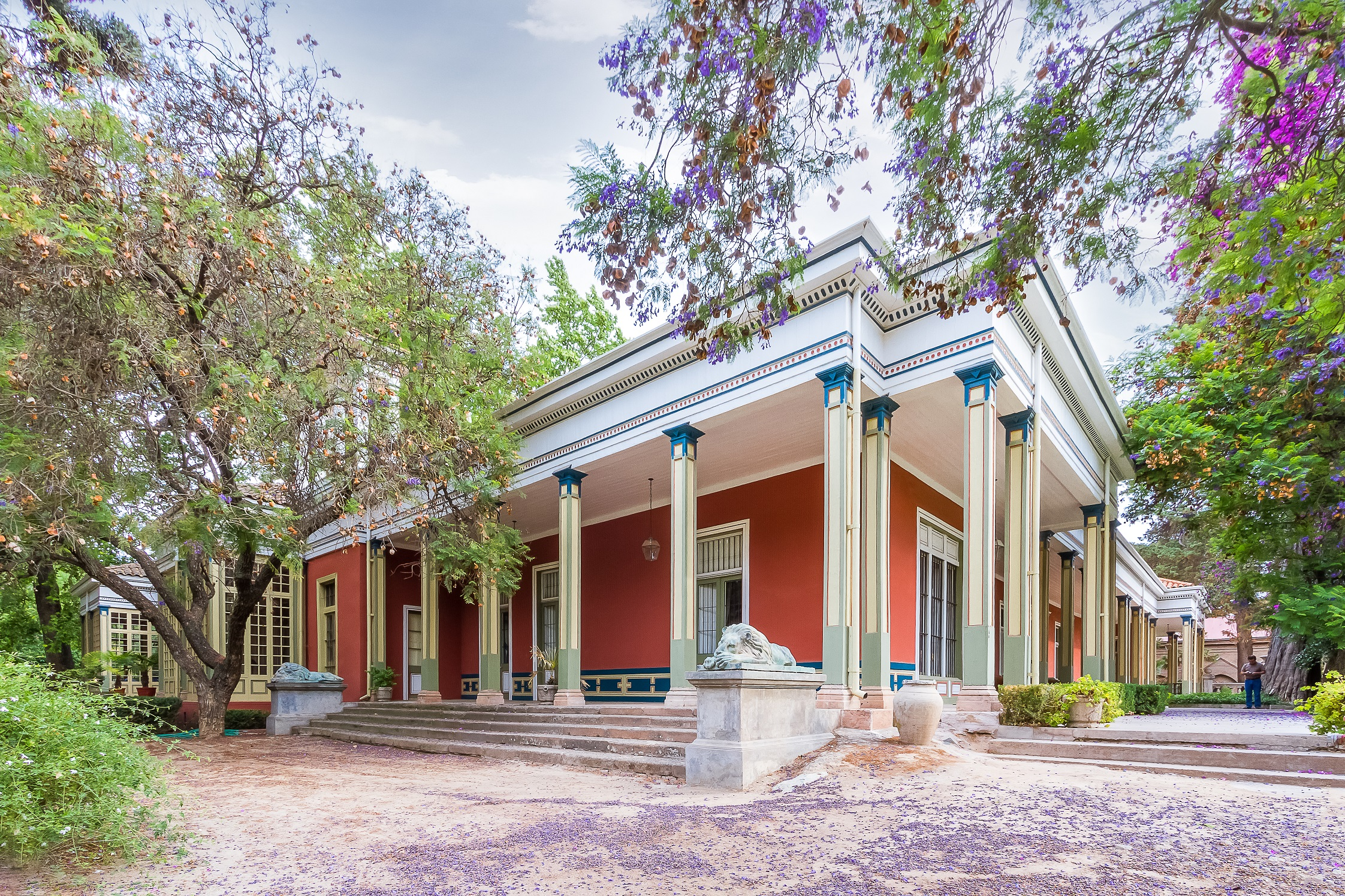 Casona del Hotel Casa Real en Viña Santa Rita
