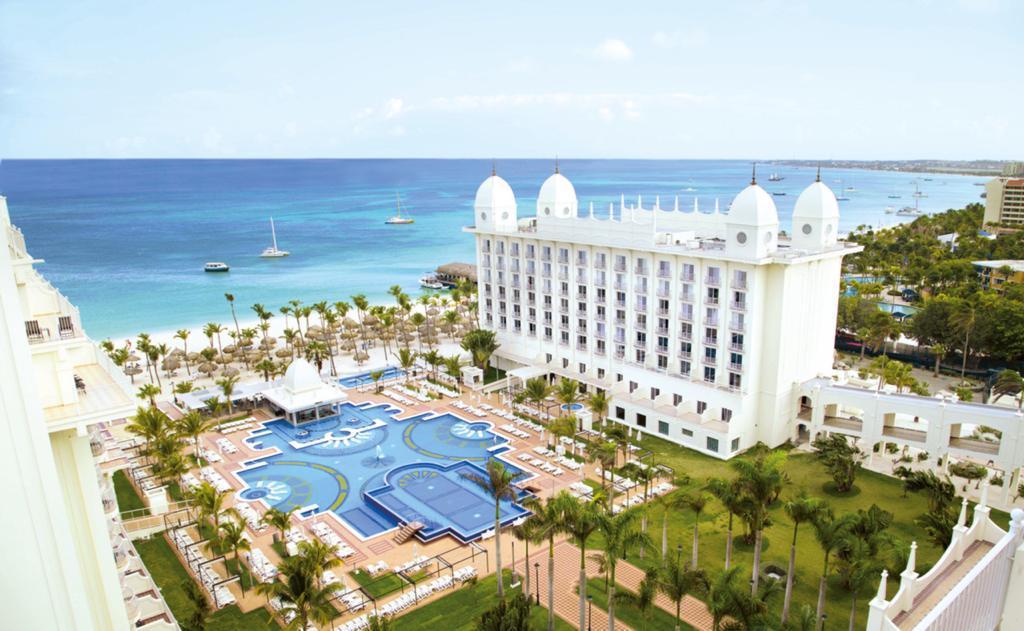 Vista aérea del Hotel Riu Palace Aruba