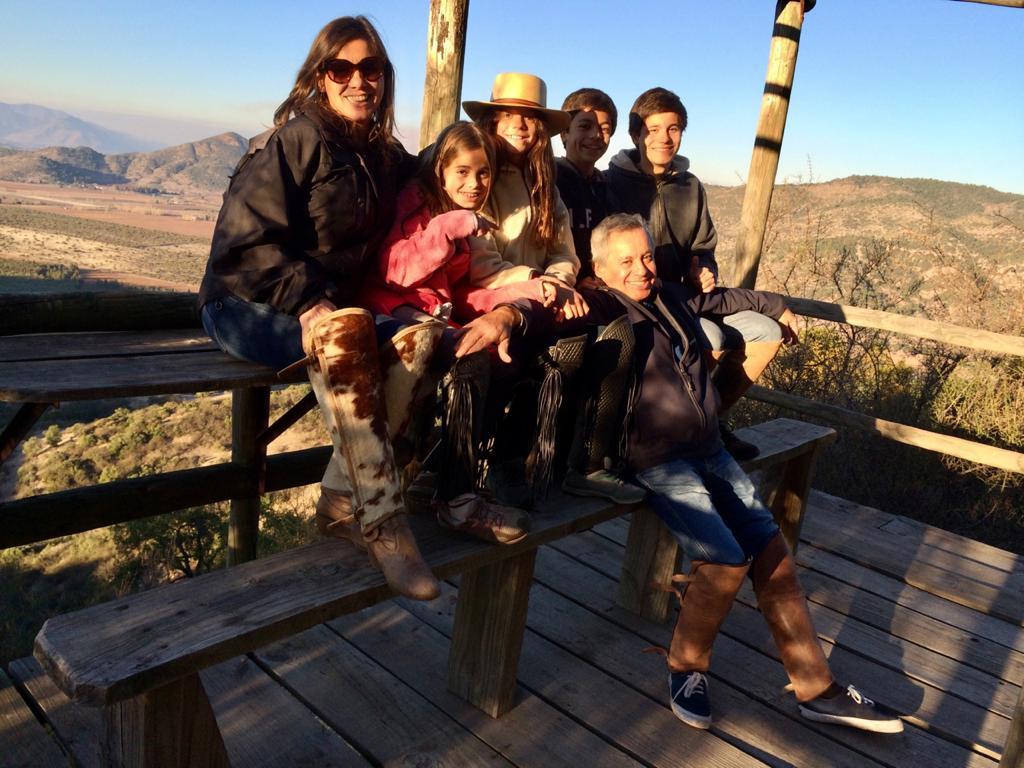 Mirador con vista al Valle de Colchagua