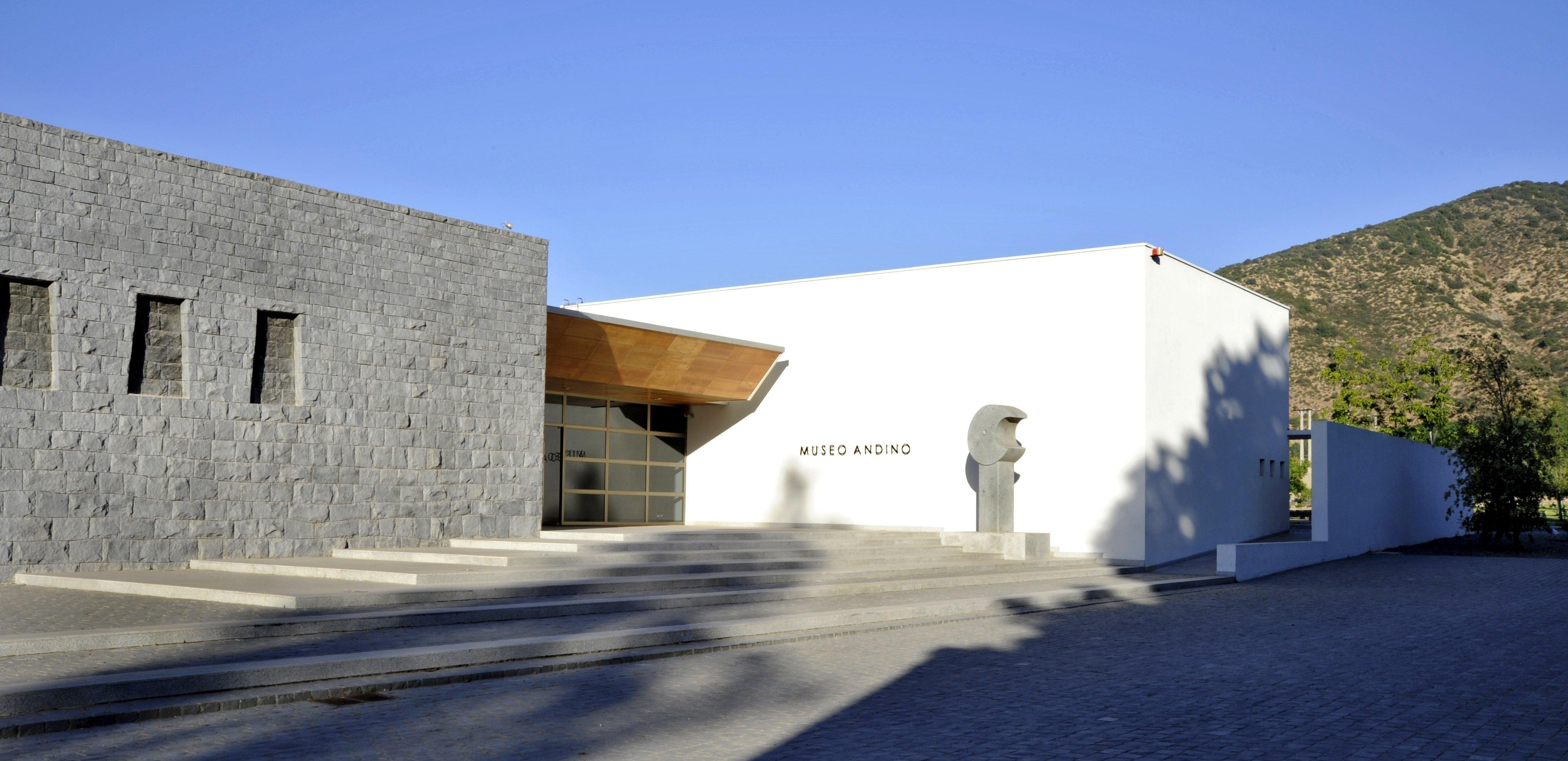 Entrada del Museo Andino de Viña Santa Rita