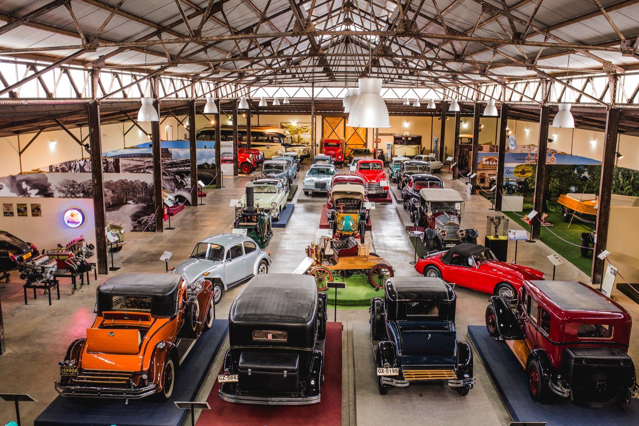 Museo del Automóvil en Viña Santa Cruz, Colchagua