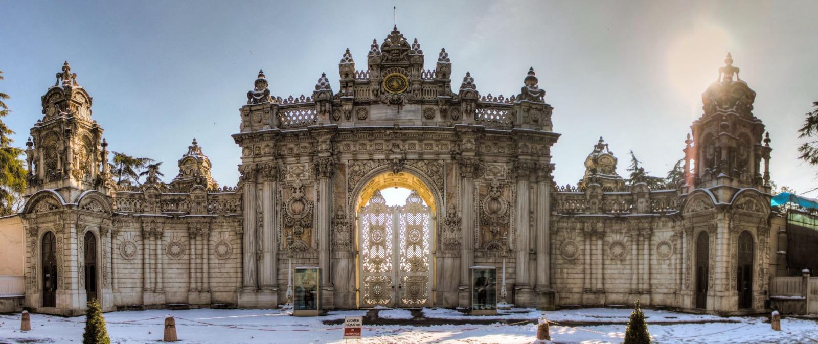 Palacio de Dolmabahçe en Estambul, Turquía