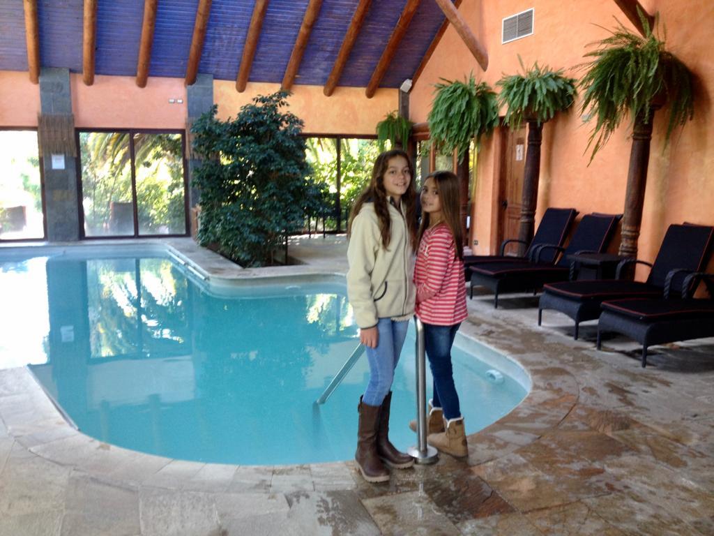 Piscinas y spa del Hotel Santa Cruz en Colchagua