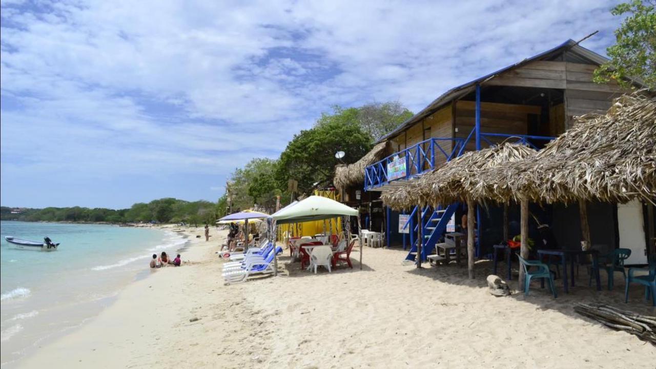 Playa en Cartagena de Indias, Colombia