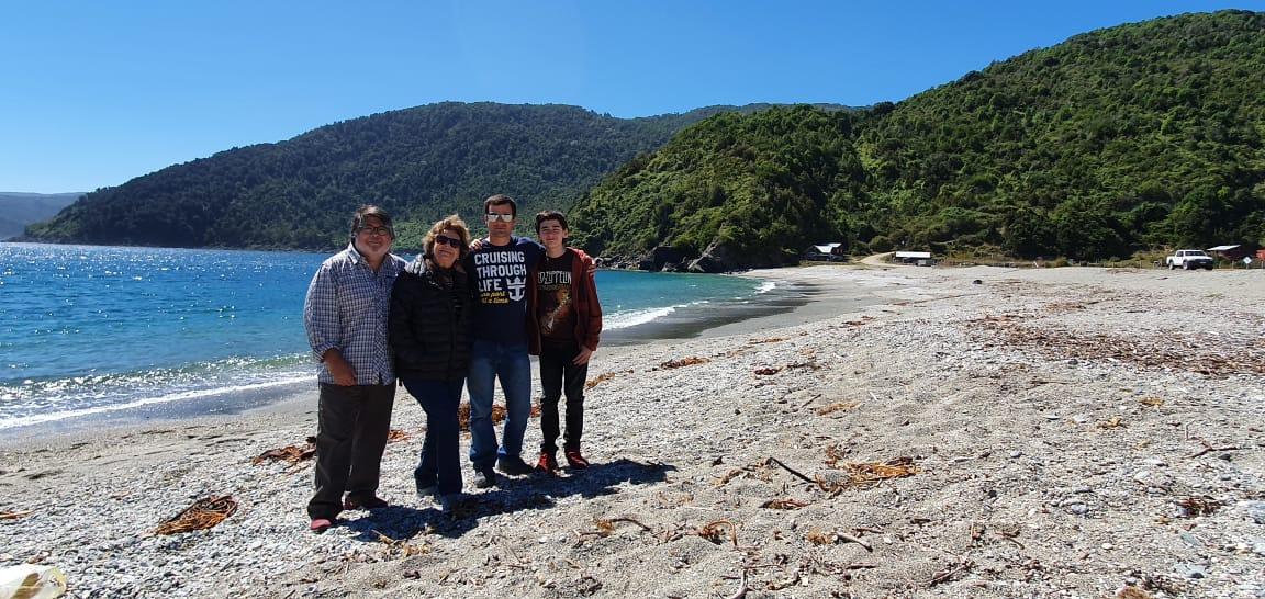 San Pedro, playas del sur de Chile en la Región de Los Lagos