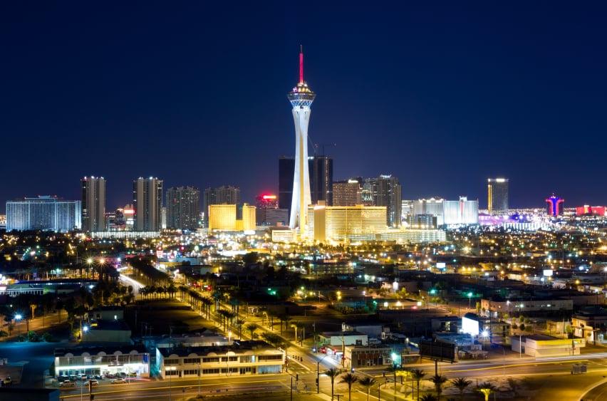 Skyline de Las Vegas, Estados Unidos
