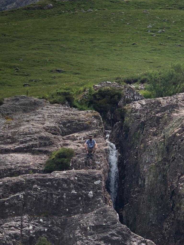 Valle de Glen Coe en Escocia