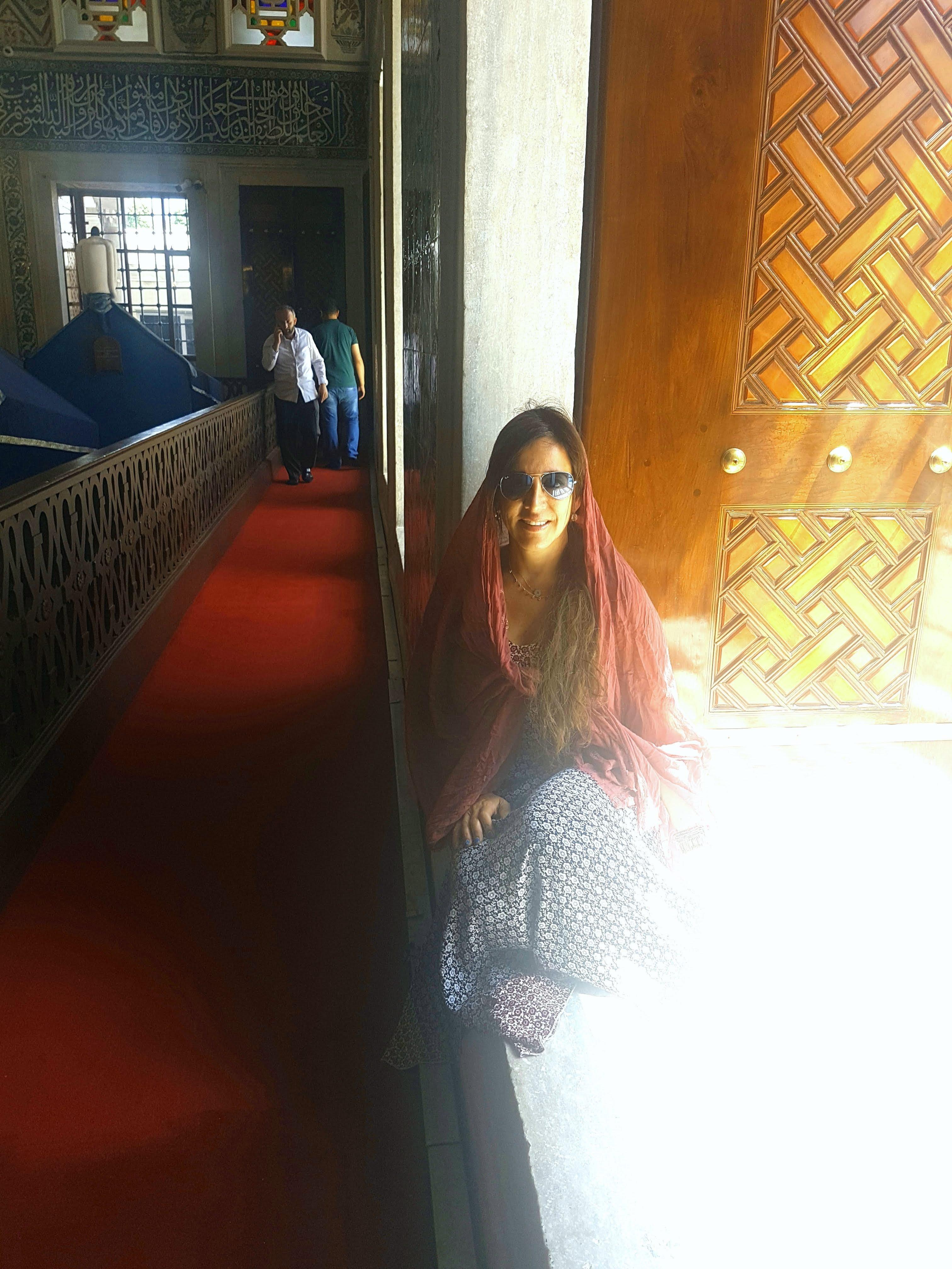 Visita a la Mezquita Azul en Estambul, Turquía