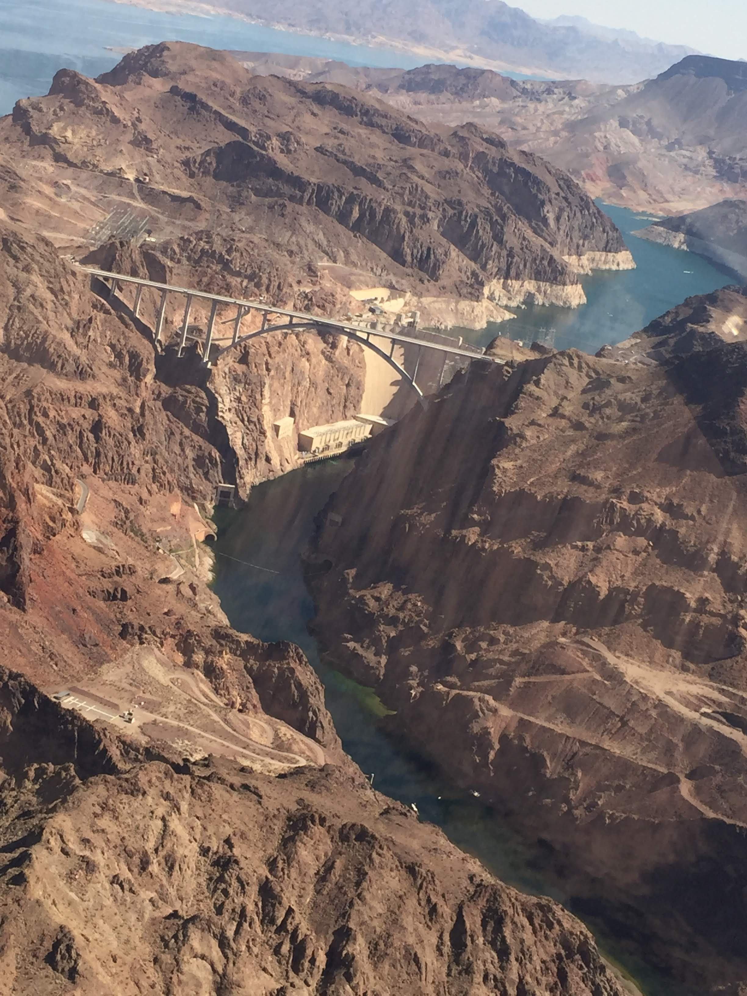 Vista aérea sobre el Gran Cañón en Estados Unidos