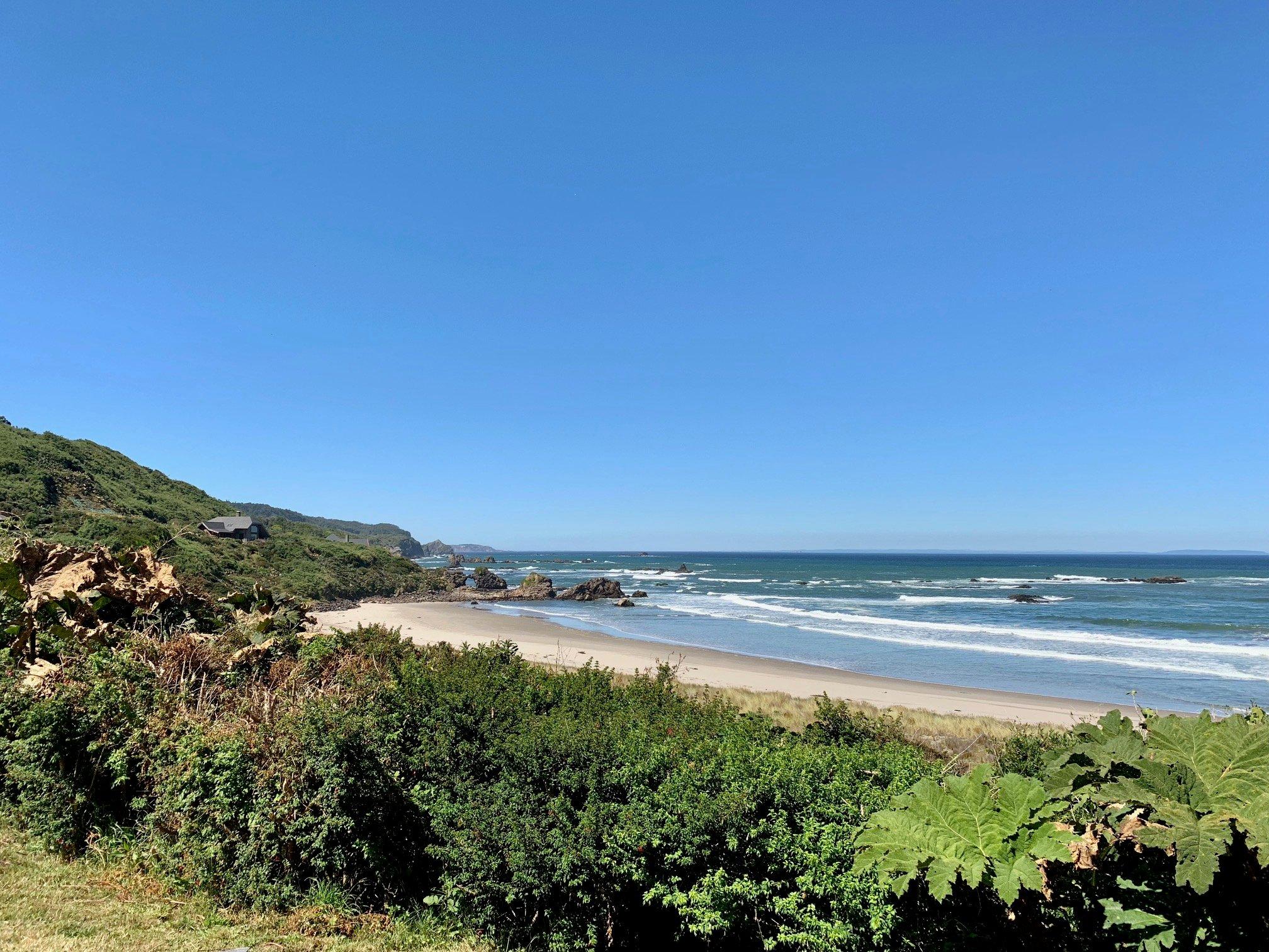 Vista desde una villa del Hotel Mari Mari al mar