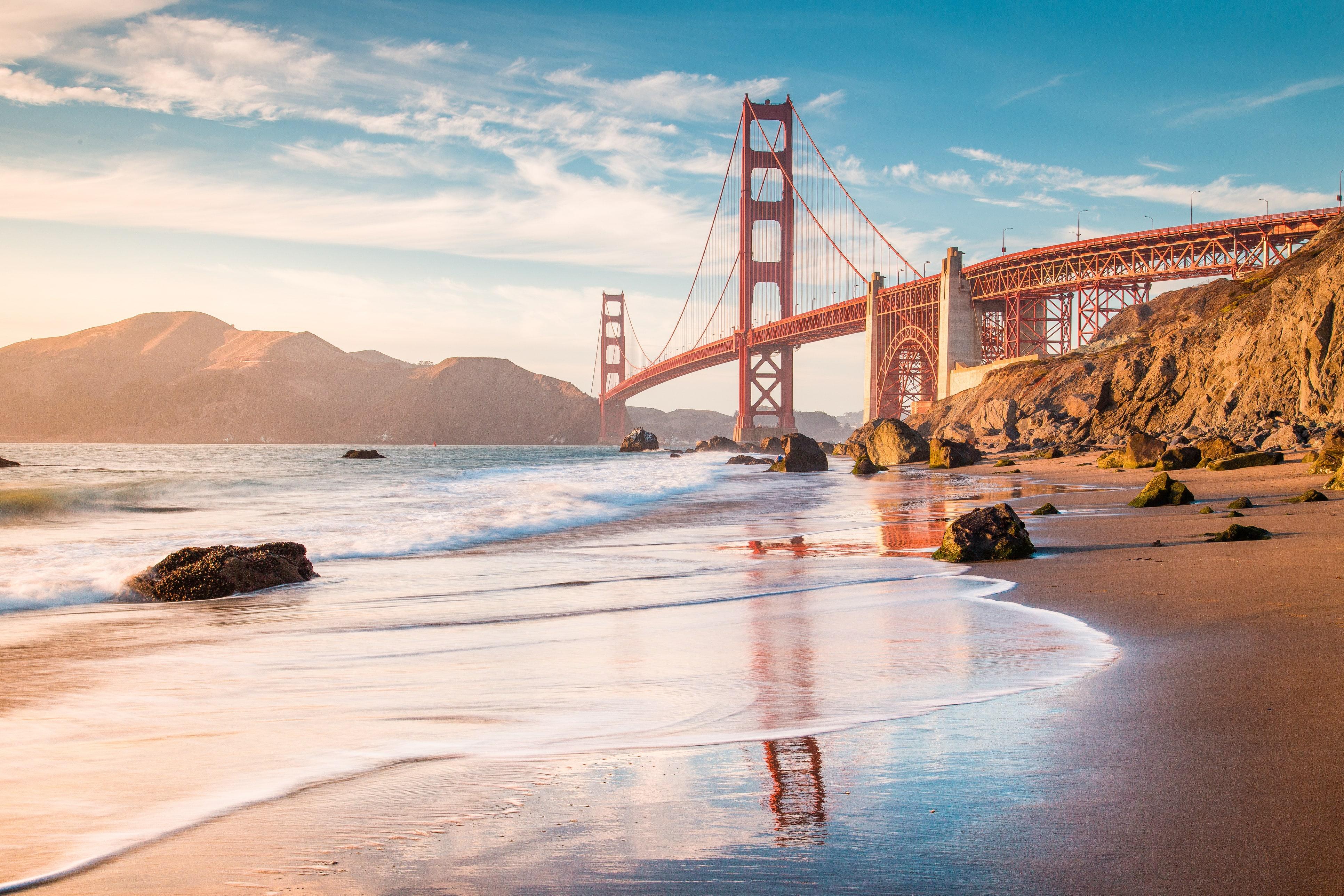 Golden Gate en San Francisco, California, Estados Unidos