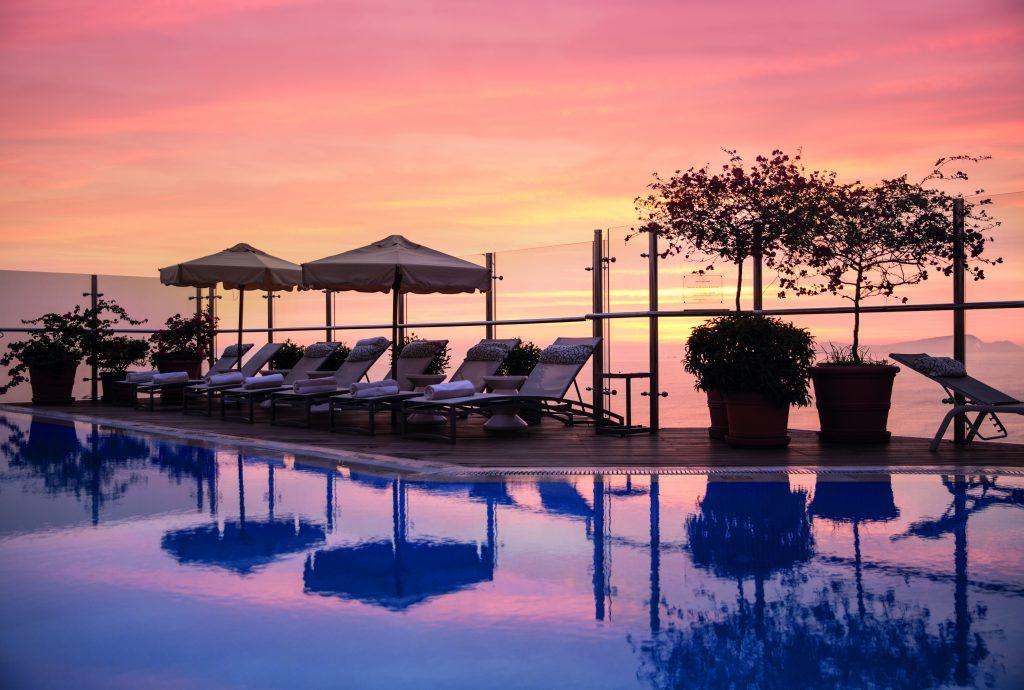 Atardecer en hotel Belmond Miraflores Park