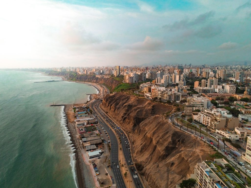 Lima desde el aire