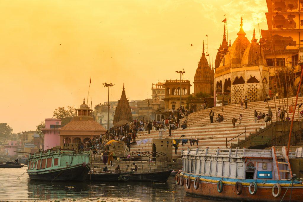 Varanasi y río Ganges