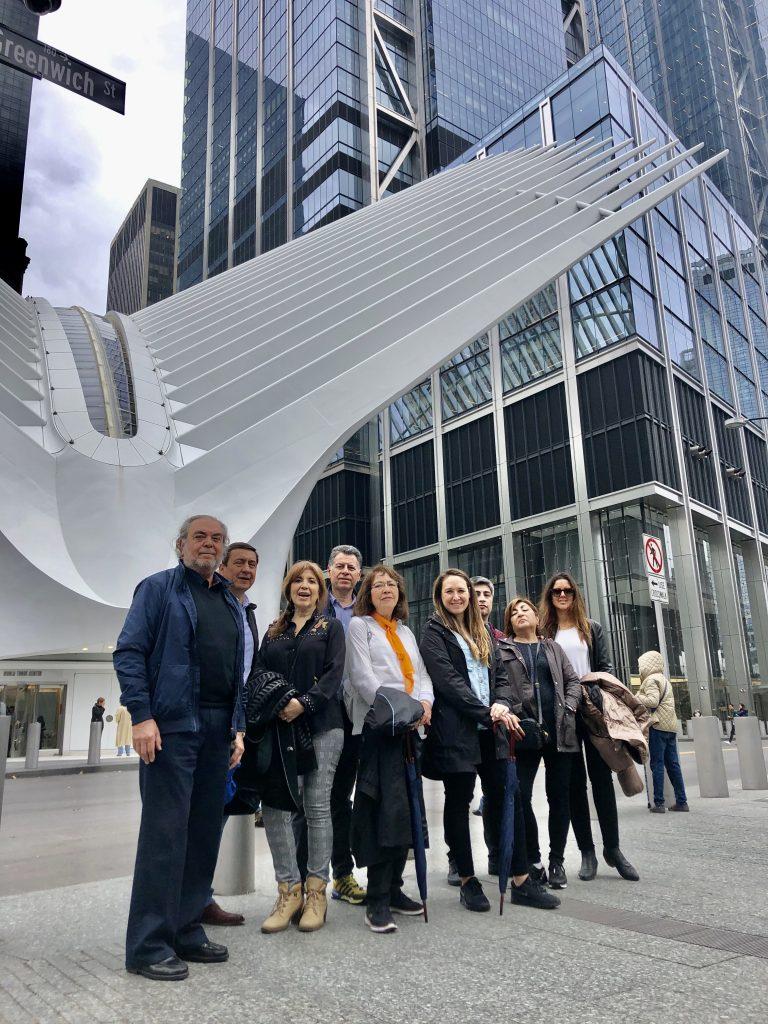 Compañeros de viaje de Federico en Nueva York
