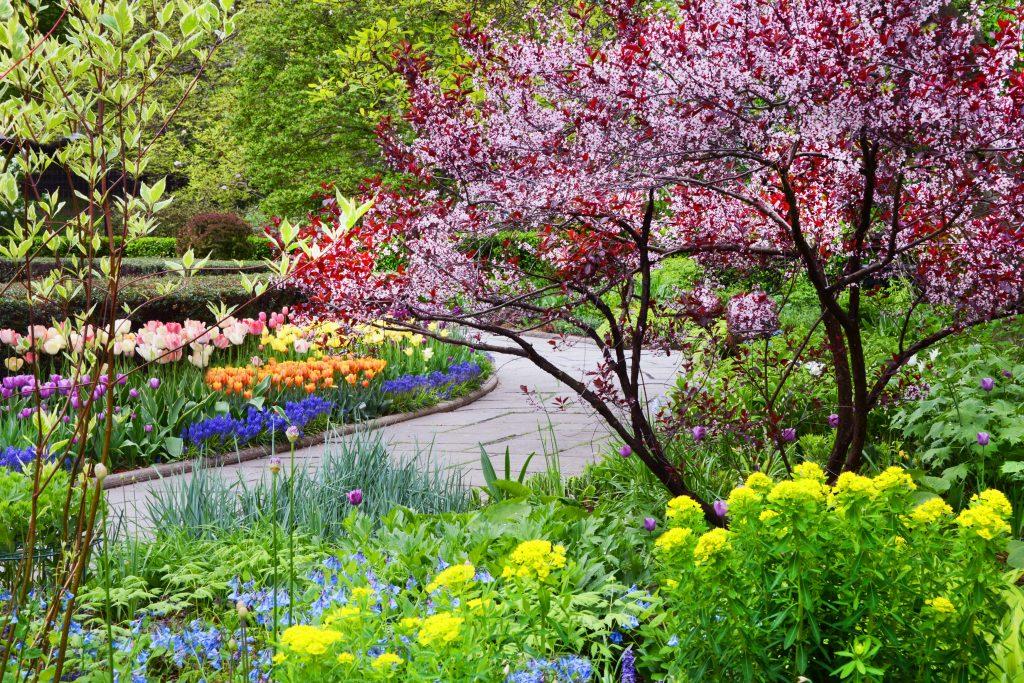 Conservatory Garden en primavera