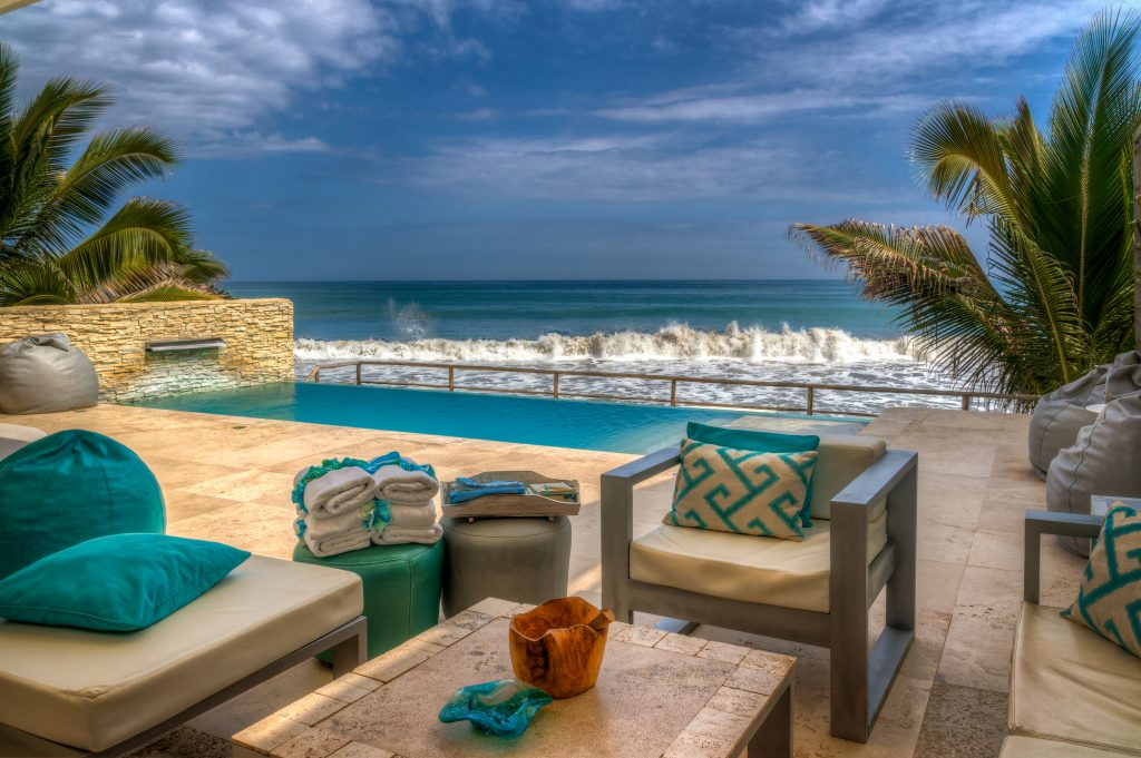 Terraza hotel DCO Suites, Lounge & Spa