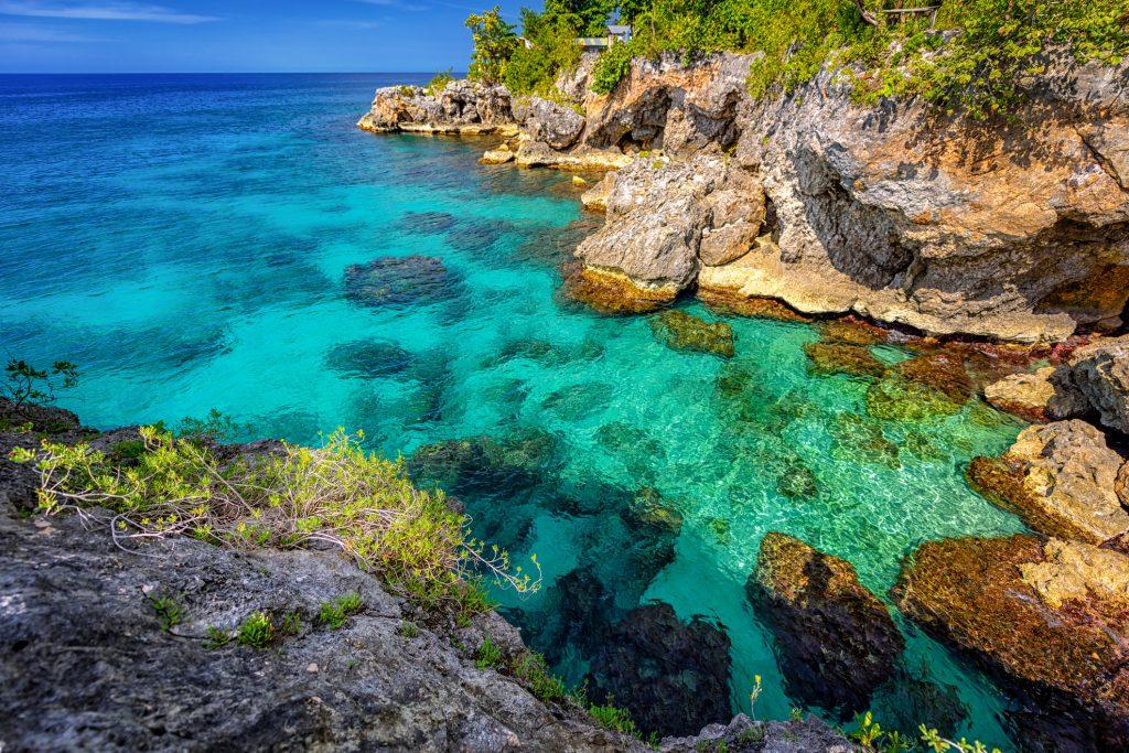 Playa en Jamaica