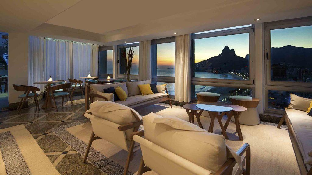 Hotel Janeiro en Río de Janeiro, Brasil